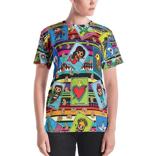 Loteria Night Print Women's T-shirt