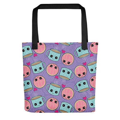 Conchas y Cafecito Tote Bags
