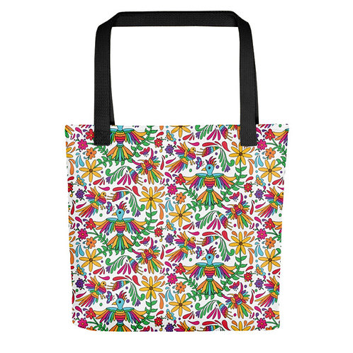 Otami Birds Tote Bags