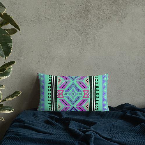 Modern Azteca Basic Pillow