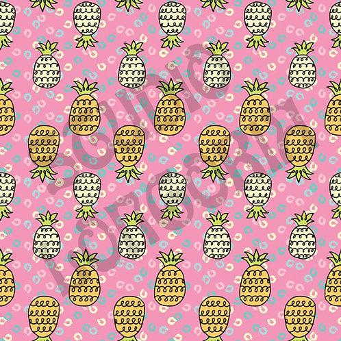 Pineapples Fabric