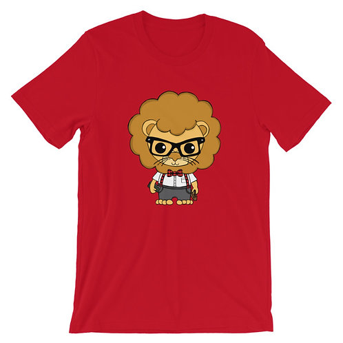 Nerdamals Lion Adult Unisex T-shirt