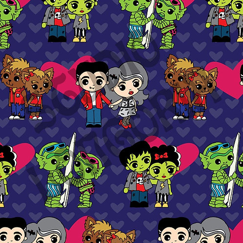 Monster Love Fabric