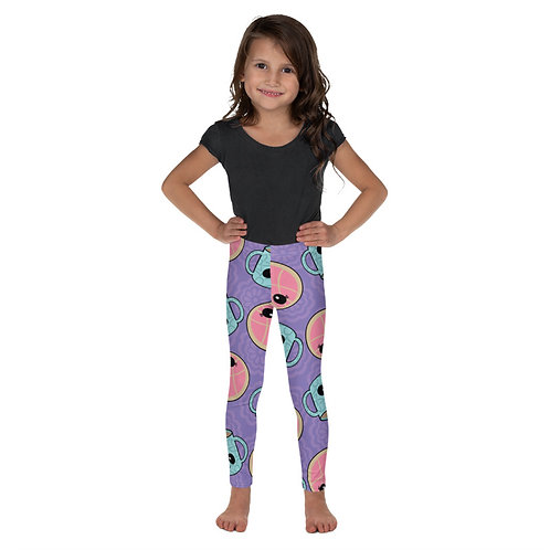 Conchas y Cafecito Print Toddler Leggings