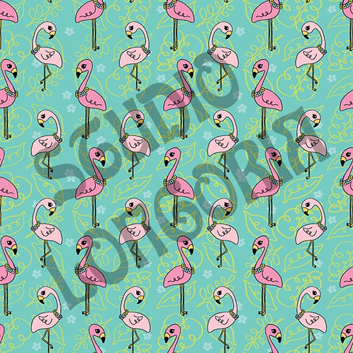 Flamingo Bay Fabric