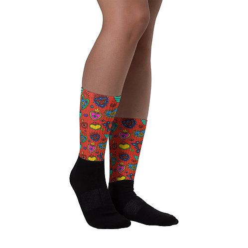 Corazon Milagros Socks