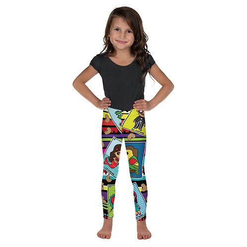 Loteria Night Print Toddler Leggings