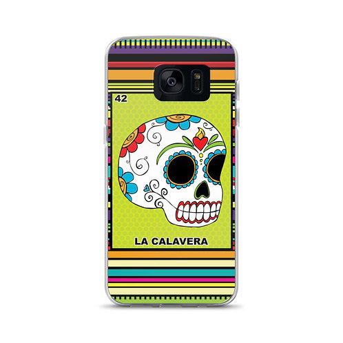 La Calavera Samsung Galaxy Phone Case
