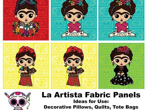 La Artista XL Panels Fabric