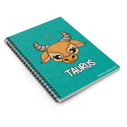 Taurus Spiral Notebook - Ruled Line