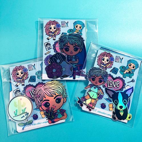 Oh Fifi Sticker Packs- Nessa