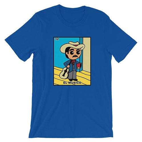 El Musico Loteria Adult Unisex T-shirt