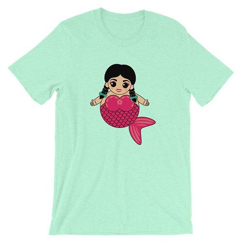 Pink Sirena Adult Unisex T-shirt