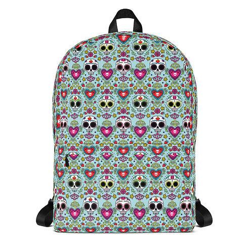 Calaveras y Corazons Backpack