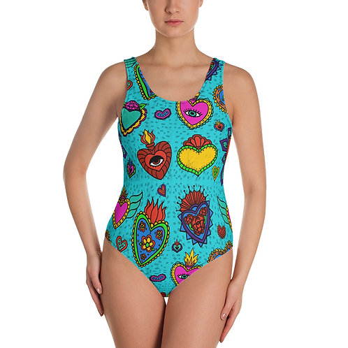 Corazon Milagros One-Piece Swimsuit