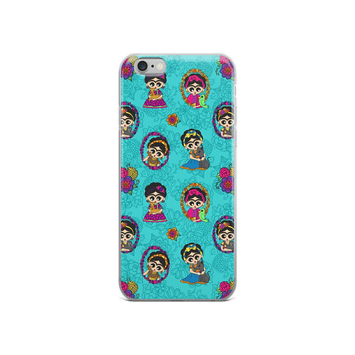 Frida Little Animals iPhone Case