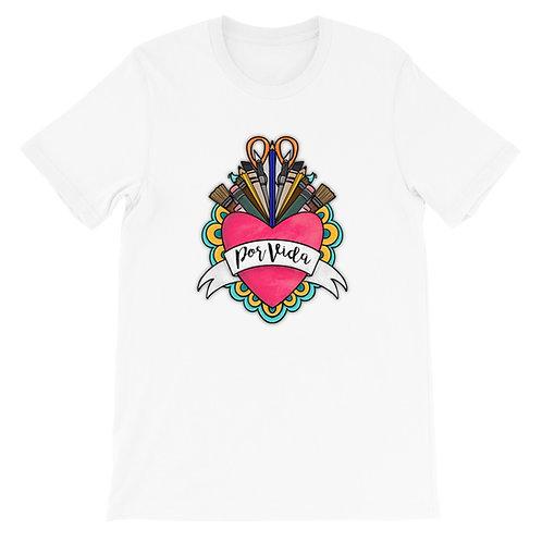 Artist Por Vida Short-Sleeve Unisex T-Shirt