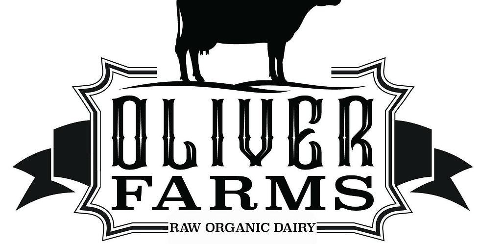 Oliver Farms Organic Raw Cows Milk Feta