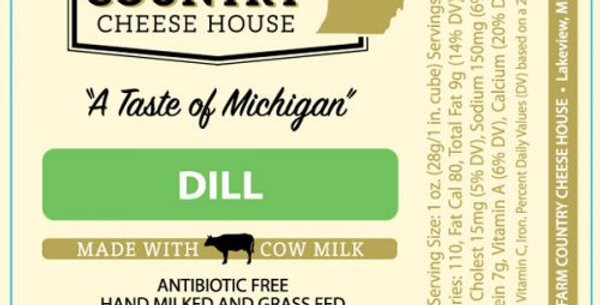 Farm Country Cheese House Dill 8oz