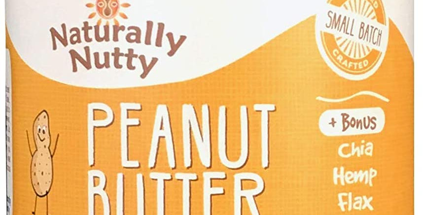 Naturally Nutty Organic Smooth Peanut Butter