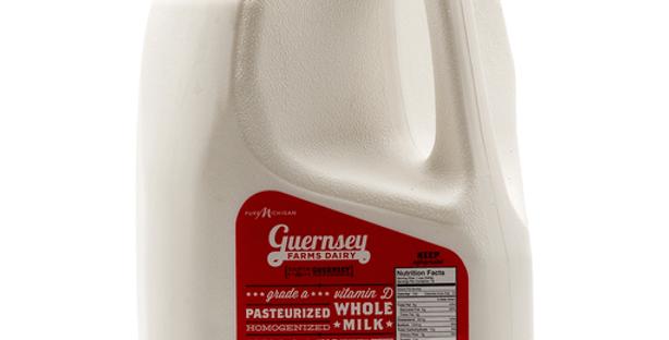 Guernsey: Whole, Gallon