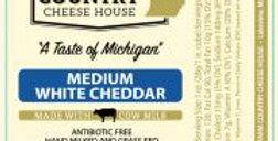 Medium White Cheddar Cheese 8oz