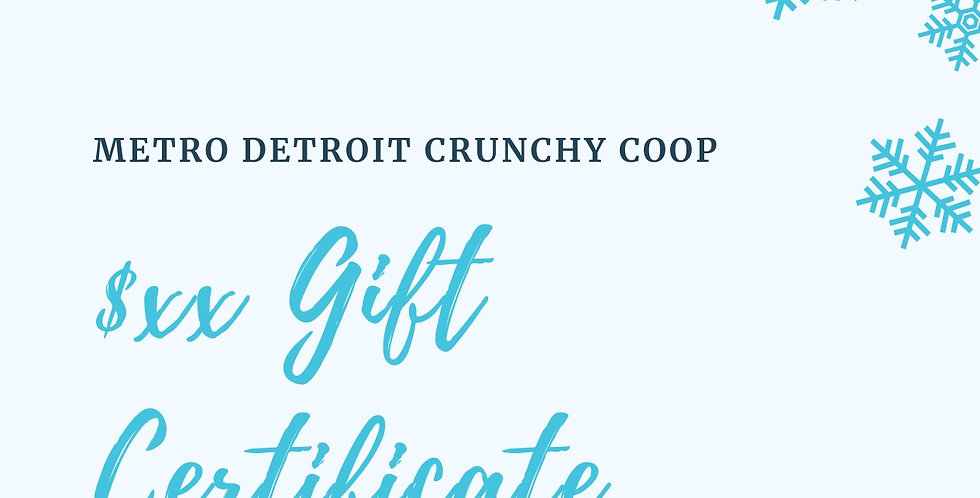 MDCC Gift Certificate