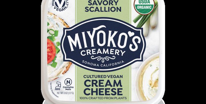 Miyoko's Savory Scallion Cream Cheese