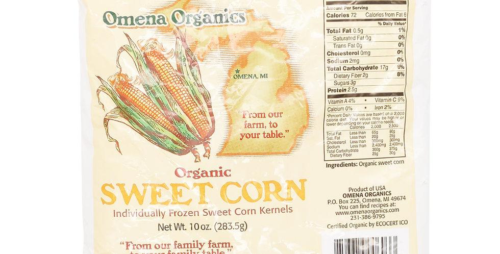 Omena Organics Frozen Michigan Sweet Corn