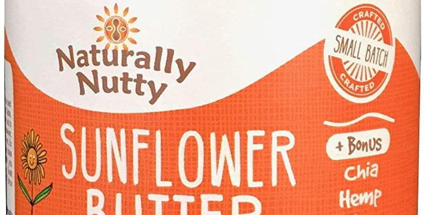 Naturally Nutty Organic Sunflower Butter