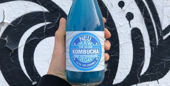 Neu Kombucha The Blues- organic