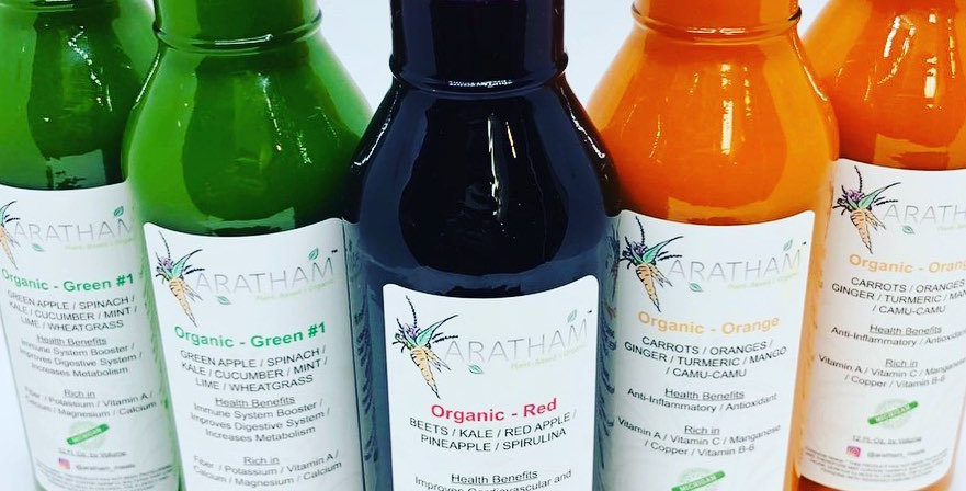 Aratham Organic Juices