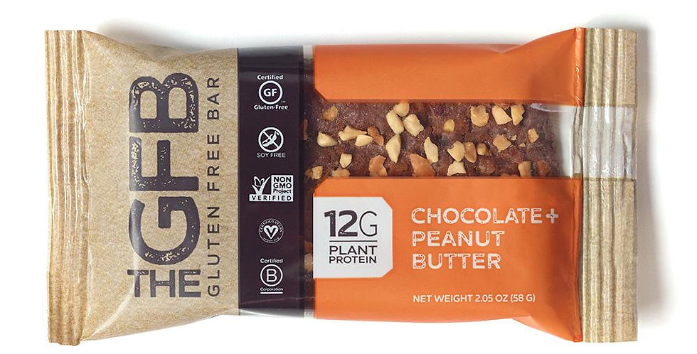 GFB Case of Chocolate Peanut Butter Bars