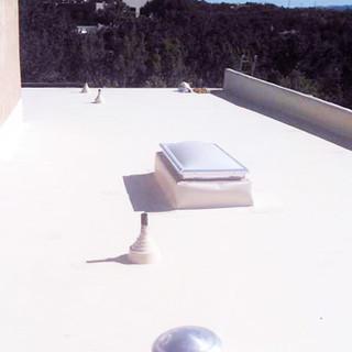 Flat roof waterproof