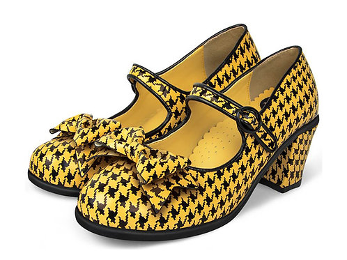 Mid Heels Pop Tooth Hound Yellow