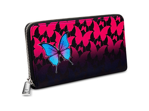 Chocolaticas® Dark Butterfly Women's Wallet