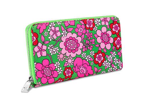 Chocolaticas® Pink Flower Women's Wallet