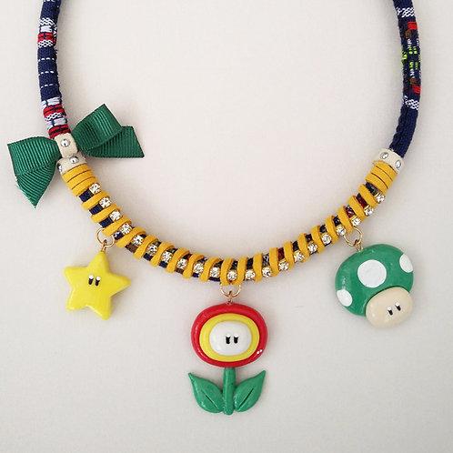 Mario Bross Necklace
