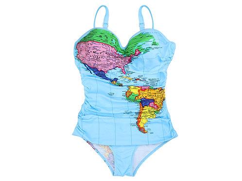 Chocolaticas® Bon Voyage Women's Swimwear
