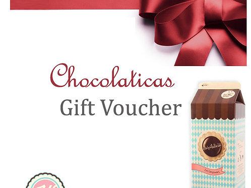 Chocolaticas Gift Voucher!