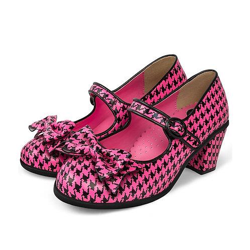 Mid Heels Pop Tooth Hound Pink