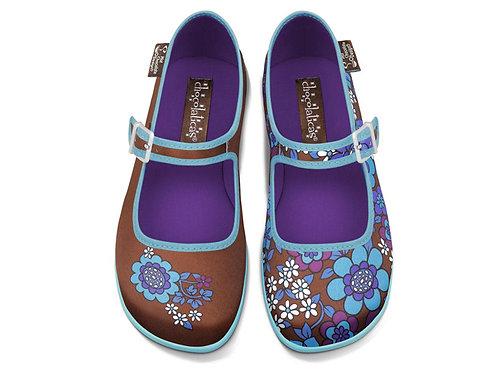 Chocolaticas Blue Flowers