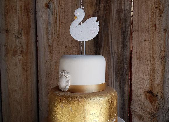 Tårtljus svan