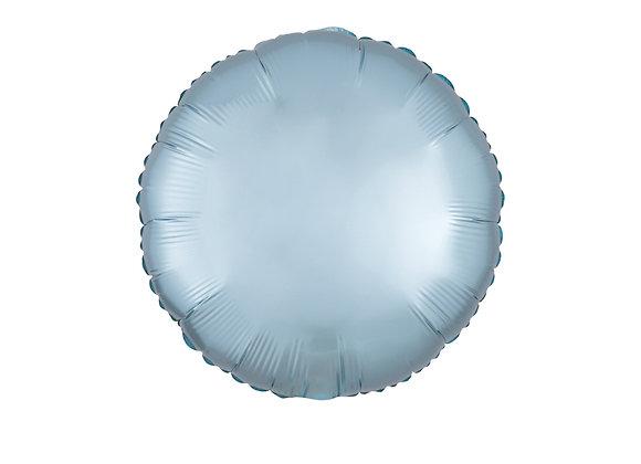 Folieballong pastellblå