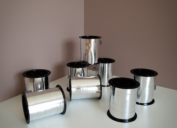 Presentsnöre silver metallic
