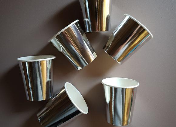Pappersmuggar silver