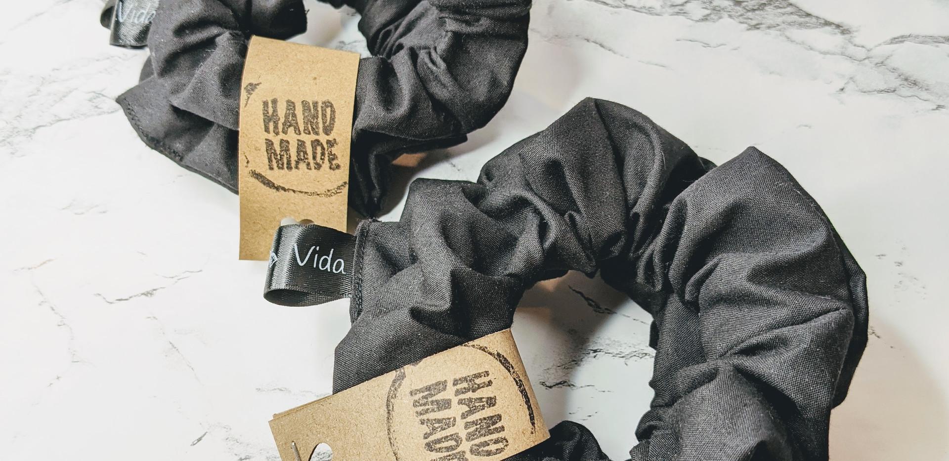 Black scrunchie bundle