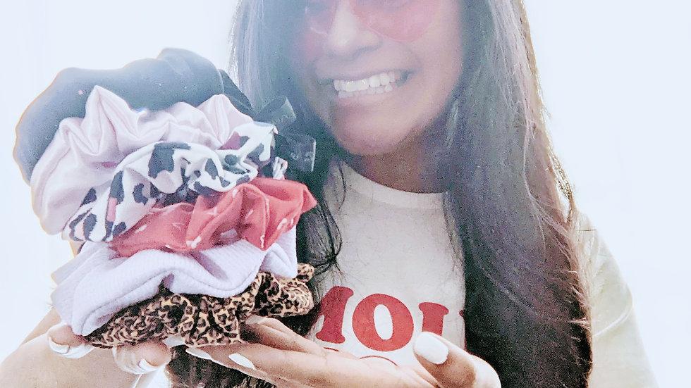 Valentine scrunchie (3 count) bundle