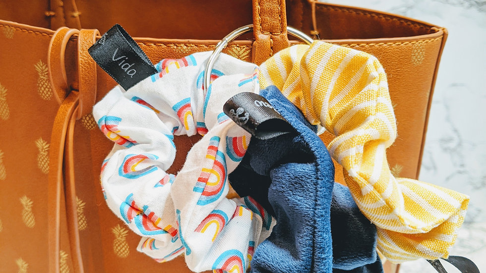 Cool school scrunchie bundle