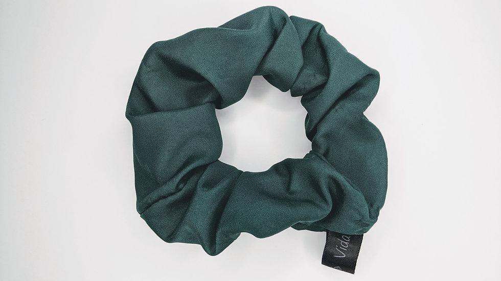 Hunter Green scrunchie